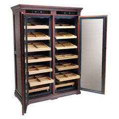 The Reagan 4000 Electric Cabinet Humidor by Prestige Import Group