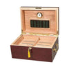Image of Quality Importers, Humidor Alhambra Cigar Desktop 75 to 100 Cigar Count, Humidor - Humidor Enthusiast