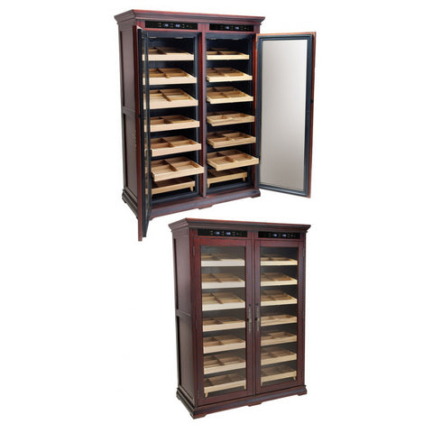 Prestige Import Group, Prestige Import Group 'The Reagan' Electric Dual Zone Cabinet Humidor, Humidor - Humidor Enthusiast