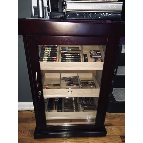 The Spartacus Display Cabinet Humidor by Prestige Import Group