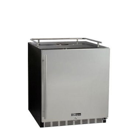 "Kegco HK-38-BS 24"" Wide Stainless Steel Built-In Kegerator - Cabinet Only"