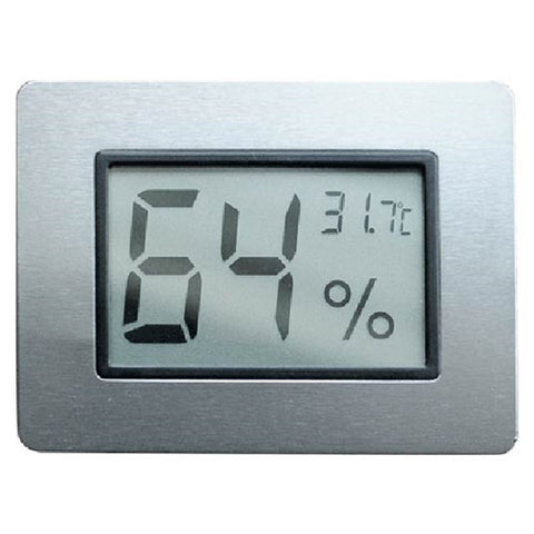 Visol Digital Hygrometer - Thermometer for Cigar Humidors - Humidor Enthusiast