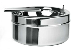 Visol Dash Polished Chrome Metal Cigar Ashtray - Humidor Enthusiast