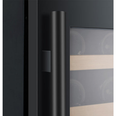 Allavino  56 Bottle Dual Zone Black Wine Refrigerator