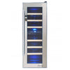 Image of Vinotemp 21-Bottle Dual-Zone Thermoelectric Mirrored Wine Cooler