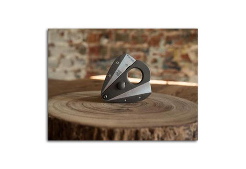 Photo of the XIKAR Xi3 Titanium Black Cigar Cutter 9322TB