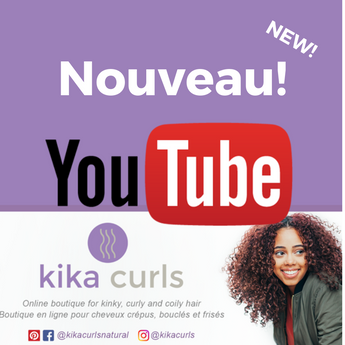 Qui est Kika Curls ? |  Introducing: Kika Curls' Youtube Channel!