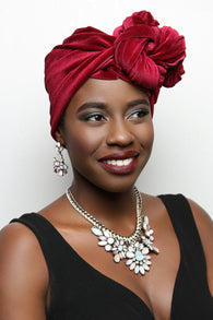 EVA - Red Velvet Headwrap