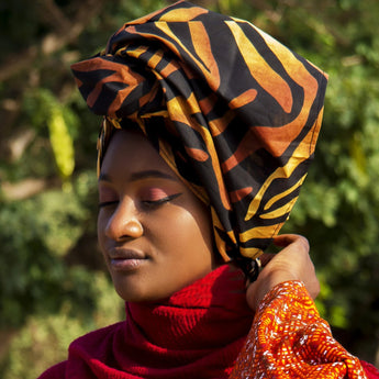 Amina - African Print Headwrap