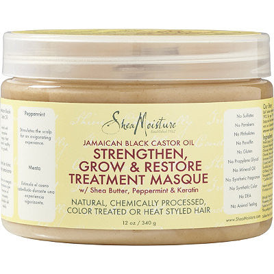 Shea Moisture Jamaican Black Castor Oil Treatment Masque (12 oz.)