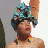 Lesia - Ayiti Cherie Collection Headwrap/ Maré Tèt