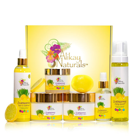 Alikay Naturals- Lemongrass collection Bundle