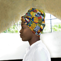 Fall  - African Print Headwrap