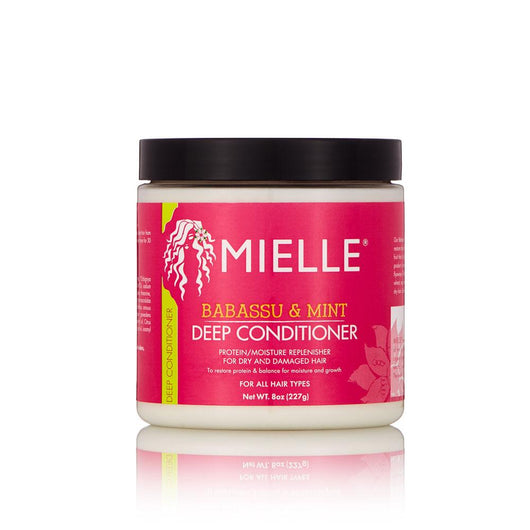 Mielle Organics - Babassau Oil & Mint Deep Conditioner 8 OZ