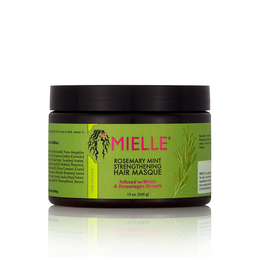 Mielle Organics - Rosemary Mint Strengthening Hair Masque (12 oz)