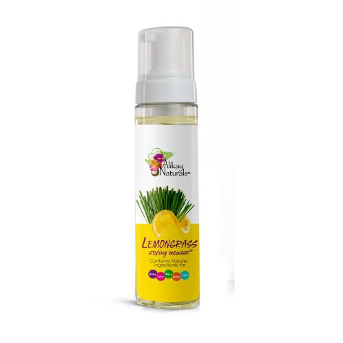 Alikay Naturals - Lemongrass Styling Mousse (8 oz)