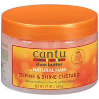 Cantu Shea Butter Natural Hair Define & Shine Custard (12 oz.)