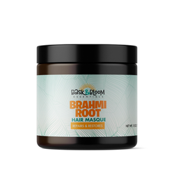 Bask and Bloom Essentials - Brahmi Root Hair Masque (12 oz)