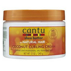 Cantu Shea Butter for Natural Hair Coconut Curling Cream (12 oz.)