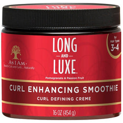 As I Am Long & Luxe Pomegranate & Passion Fruit Curl Enhancing Smoothie (12 oz.)