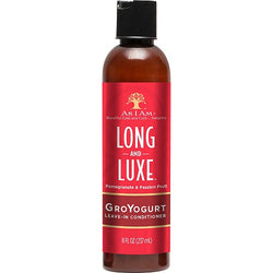As I Am Long & Luxe Pomegranate & Passion Fruit GroYurt Leave-In Conditioner (8oz)