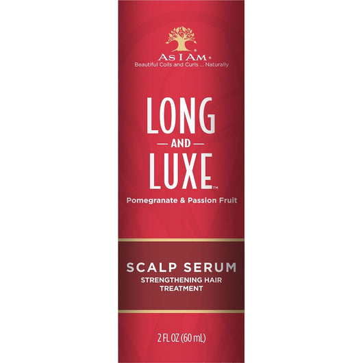 As I Am Long & Luxe Pomegranate & Passion Fruit Scalp Serum (2oz)