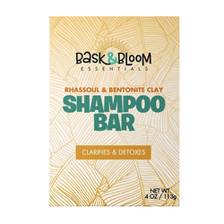 Bask and Bloom Essentials -Rhassoul & Bentonite Clay Shampoo Bar