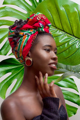 Zola  -  Large African Print Headwrap