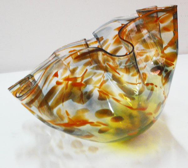 Autumn Leaves Flower Bowl