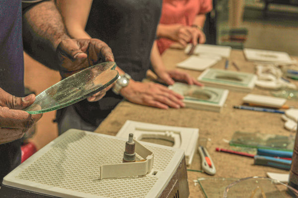 Kilnformed glass workshop @ Archifest [5 October 2019]