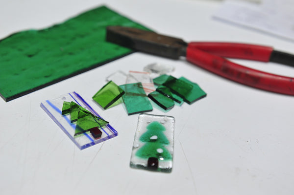 Mother's Day Glass Fusing Workshop @ Funan [7 May 2017]