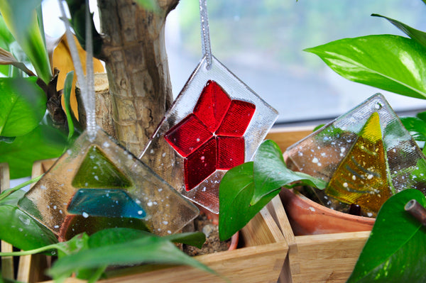 Fused Glass Christmas Ornament @ Jalan Besar [9 Dec 2017]