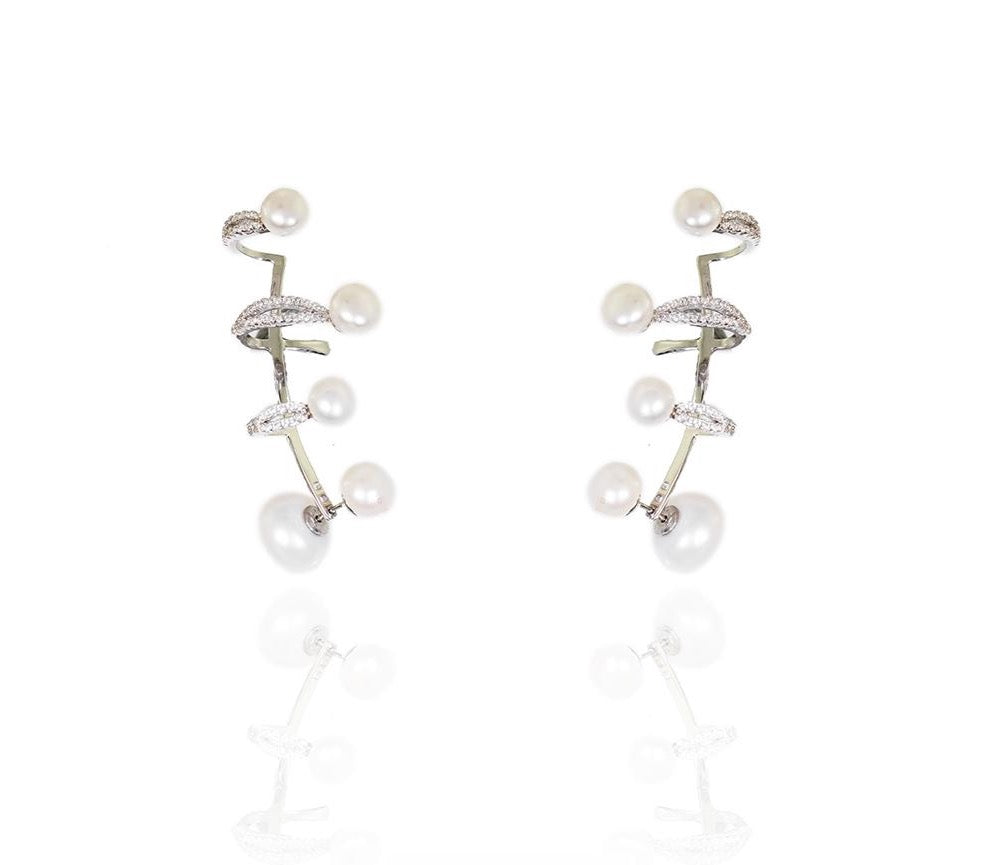 Pearl Orient Earrings