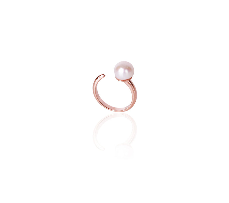 Coco Pearl Open Ring