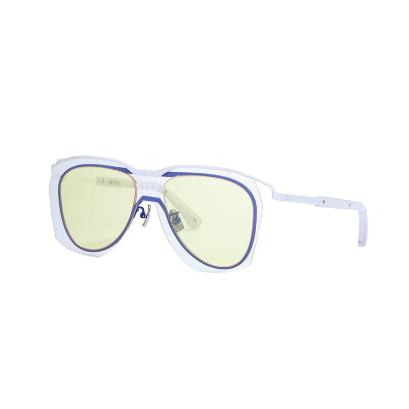 LAYERED LENS METAL AVIATOR SUNGLASSES