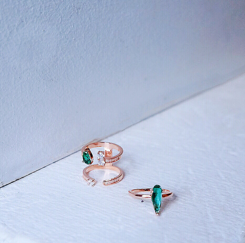 Verdant Dream Ring Set