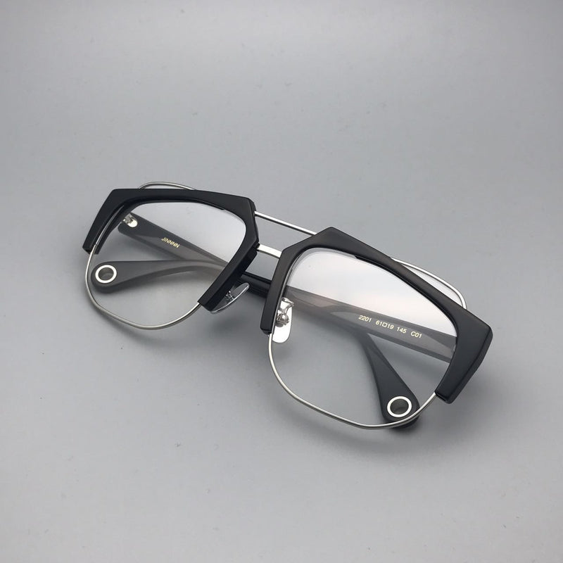 AERO Black/Clear Sunglasses