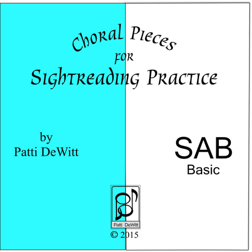 Sightreading Pieces for SAB Choir on CD-ROM