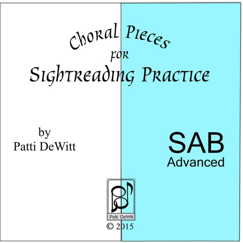 Sightreading Pieces for Advanced SAB Choir for download