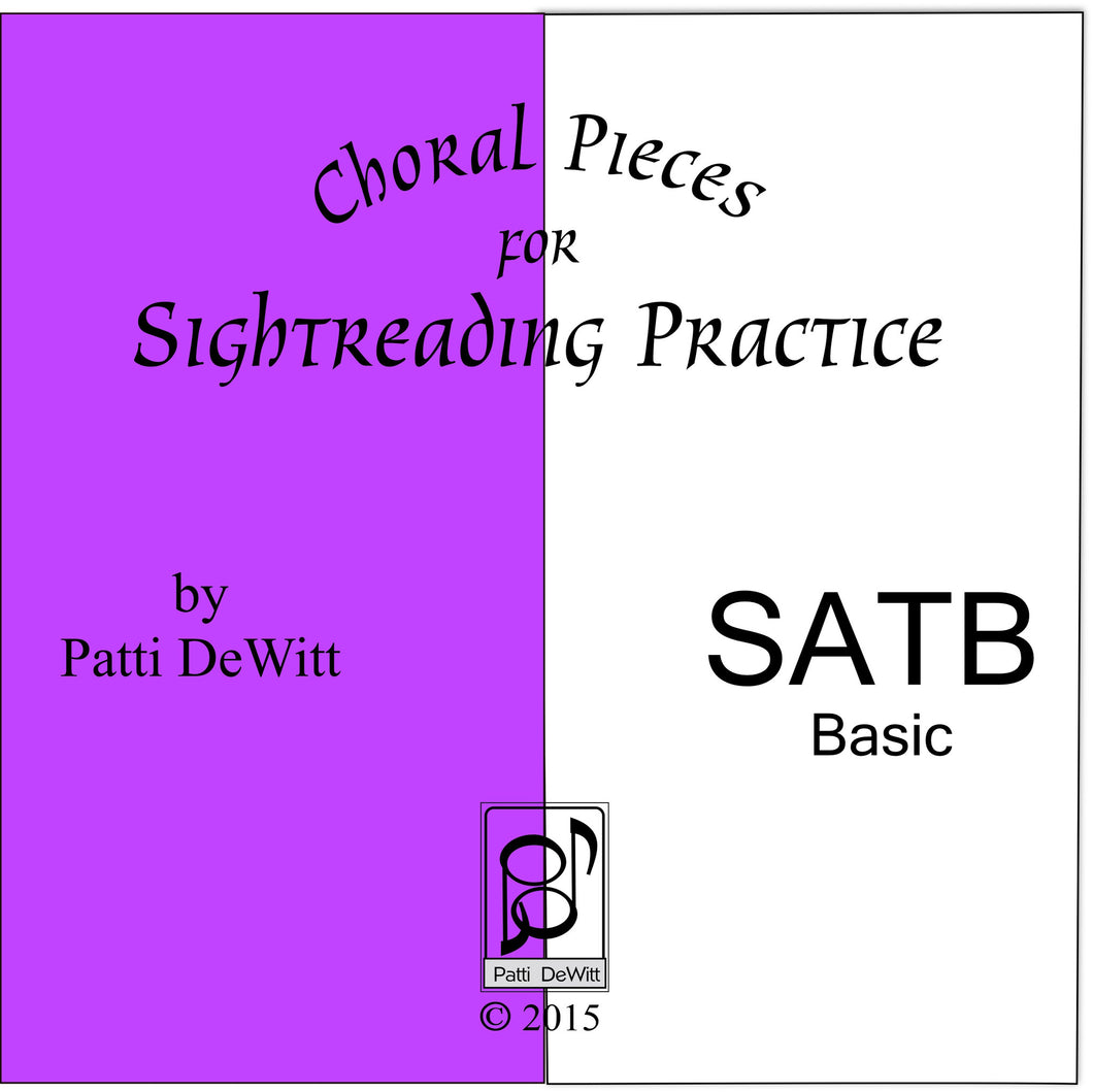 Sightreading Pieces for SATB Choir on CD-ROM