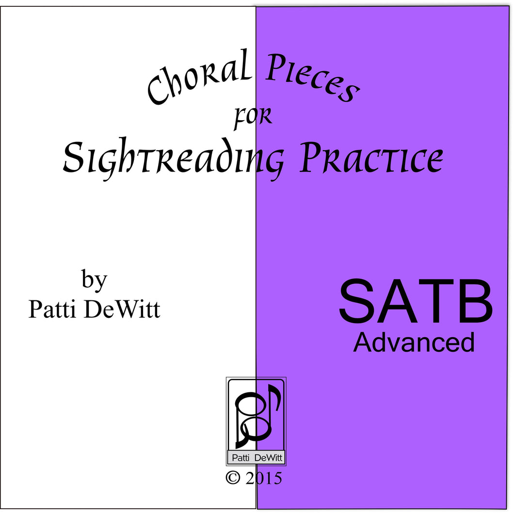 Sightreading Pieces for Advanced SATB Choir on CD-ROM
