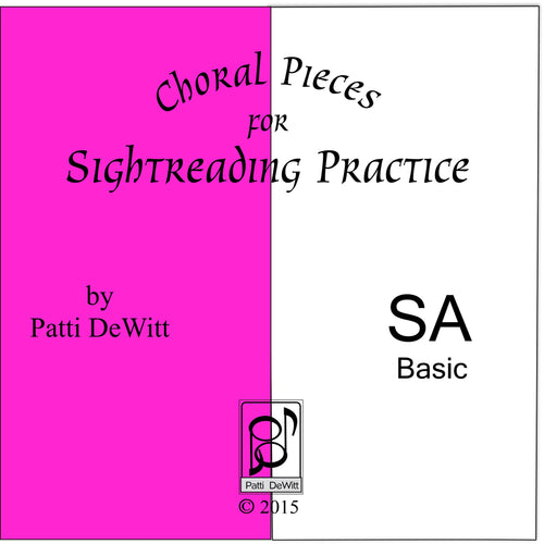 Sightreading Pieces for SA Choir (downloadable)