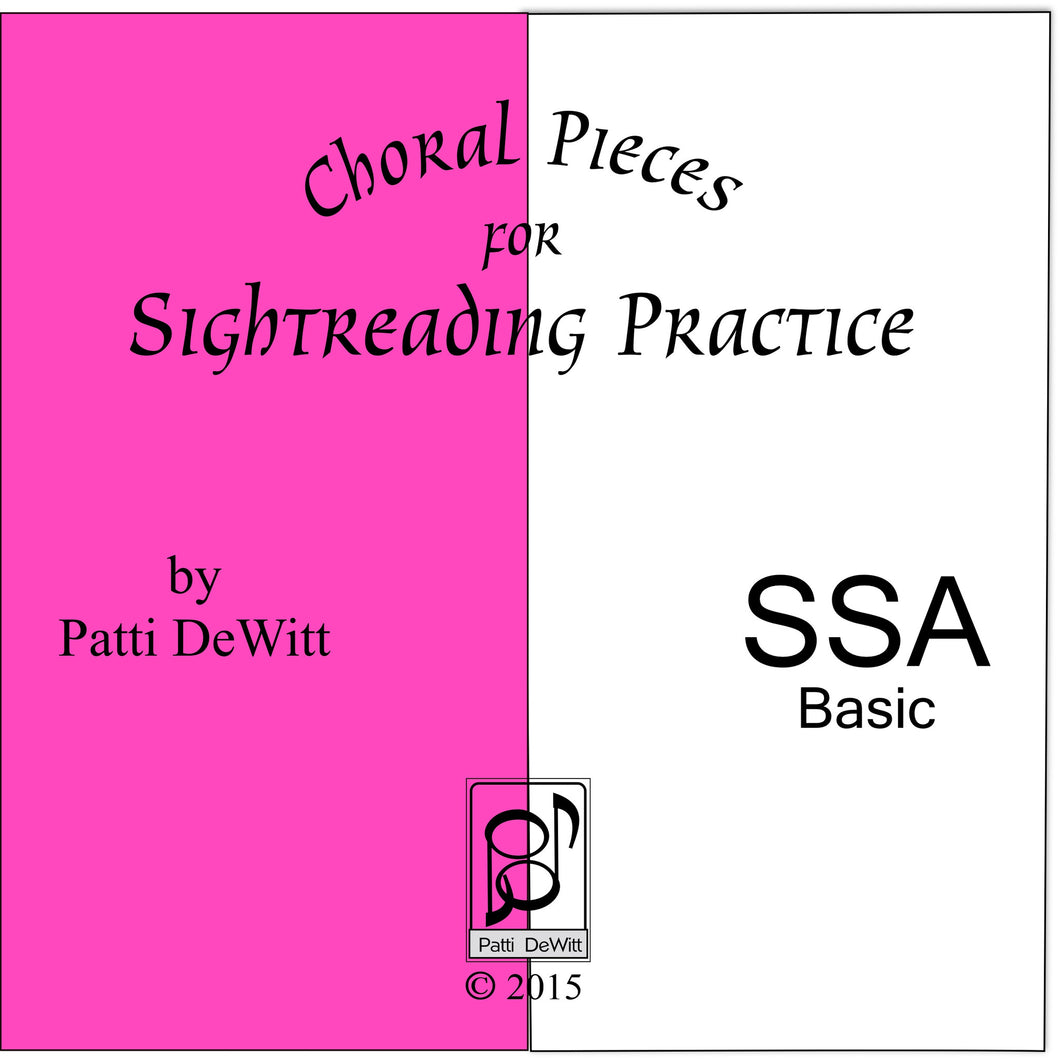 Sightreading Pieces for SSA Choir for download