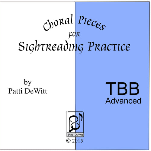 Sightreading Pieces for Advanced TBB Choir on CD-ROM