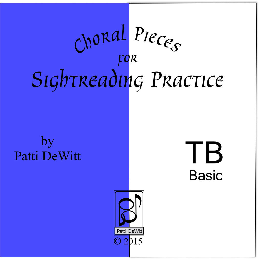 Sightreading Pieces for TB Choir on CD-ROM