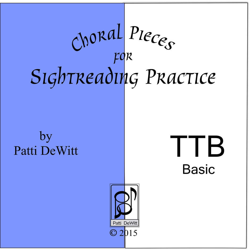 Sightreading Pieces for TTB Choir on CD-ROM