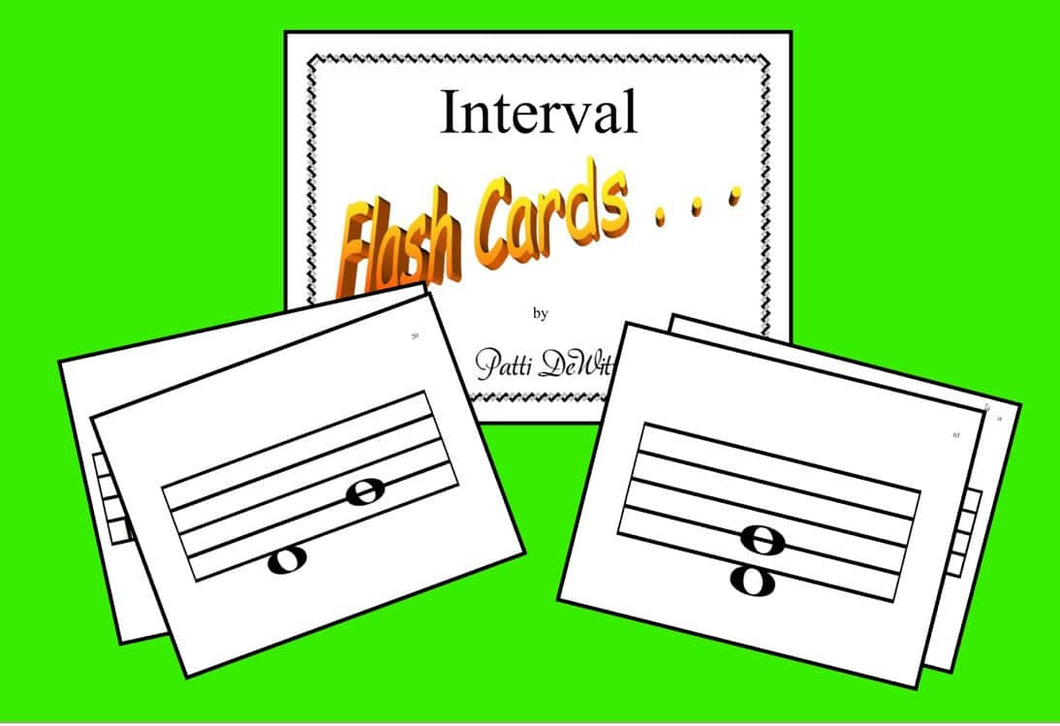 Interval Flashcards Set 1