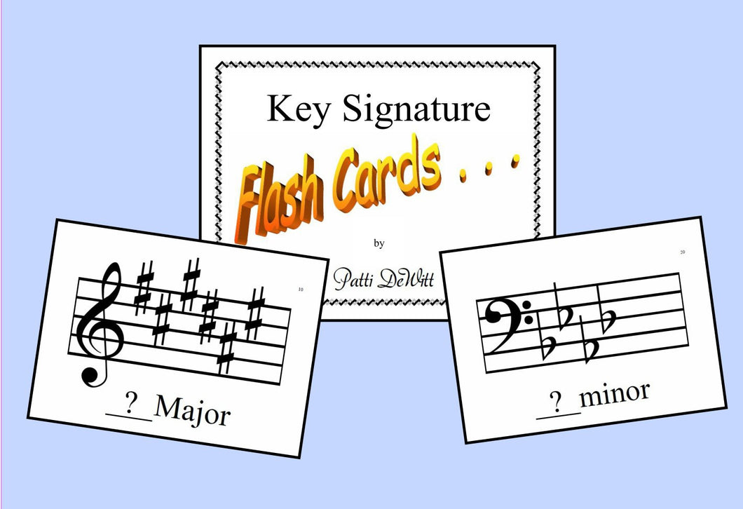 Key Signature Flashcard