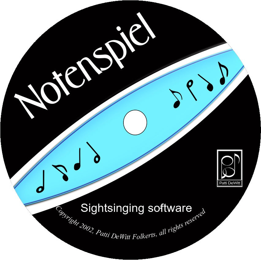 Notenspiel Software