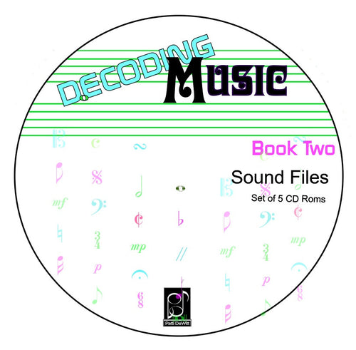Decoding Music, Book II, sounded CD Roms